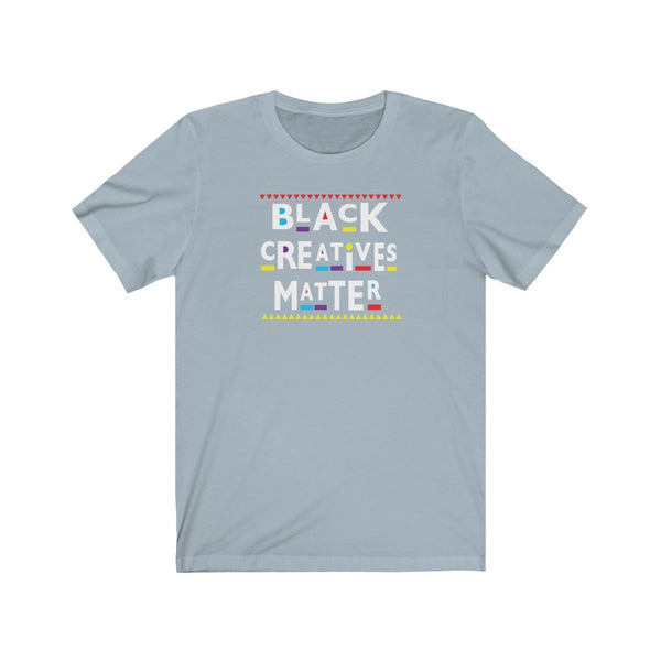 Black Creatives Matter Culture  Short Sleeve Tee