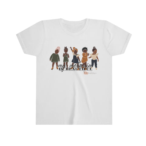 Shades of Melanin: KIDS Unisex Cotton T-Shirt