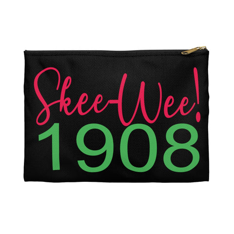 Alpha Kappa Alpha Sorority Inc Makeup Bag