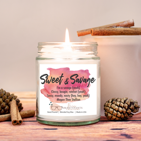 Sweet & Savage Candle