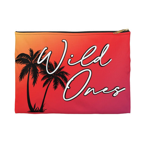 Wild Ones Go Wild 2020 Official Canvas Zipper Pouch
