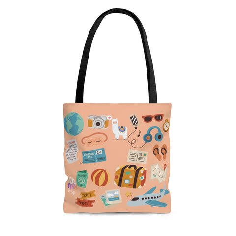 Lets Travel LLAMA Wild Ones Go Wild 2020 Official Canvas Bag