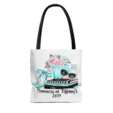 Load image into Gallery viewer, Planners at Tiffany's Canvas Tote Bag