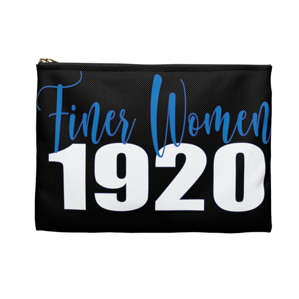 Finer Women: Zeta Phi Beta Sorority Inc Makeup Bag