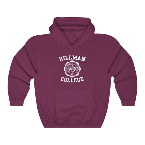 Welcome to Hillman College Unisex Heavy Blend Hooded Sweatshirt EXPRESS
