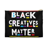 Black Creatives Matter Planner &  Pens Storage pouch