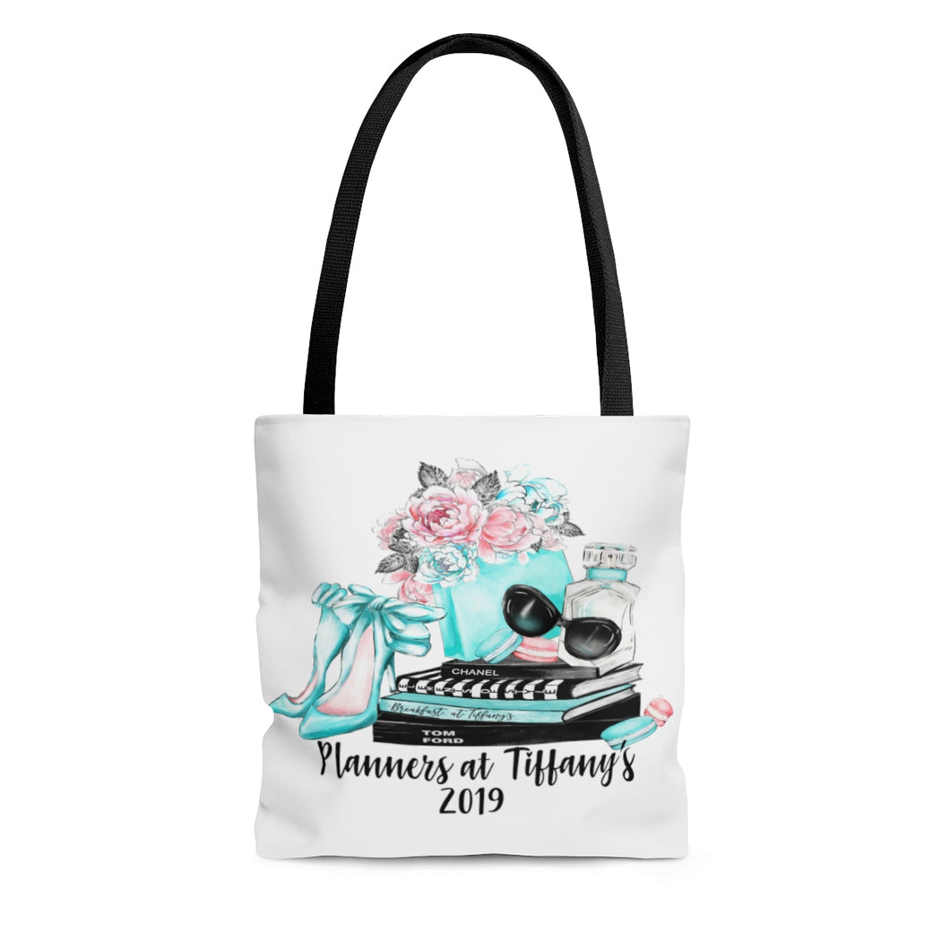 Planners at Tiffany's Canvas Tote Bag