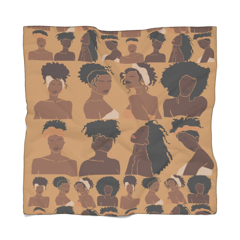 Shades of Melanin: Fashion Scarf