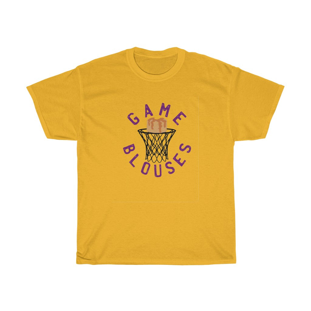 """Game, Blouses."" The Purple One Unisex Short Sleeve Tee"