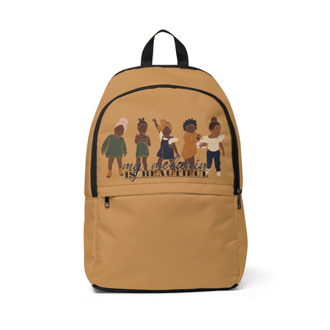 Shades of Melanin: KIDS Fabric Backpack