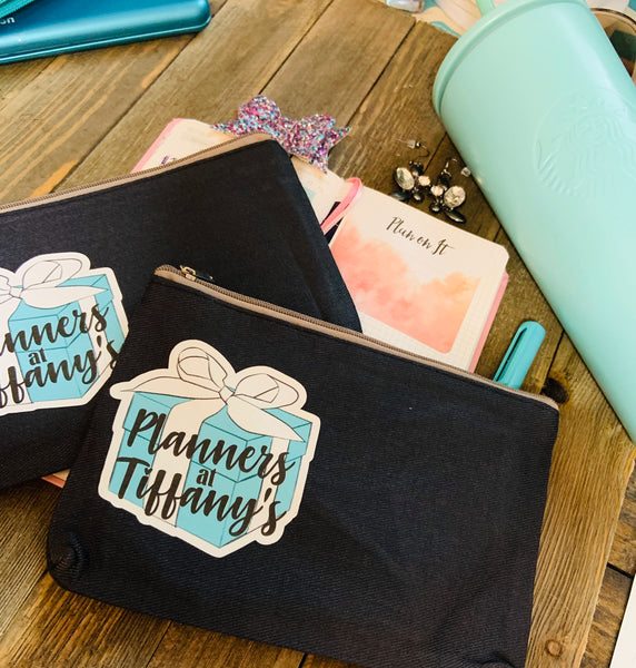 Planners at Tiffany's Planner Pouches