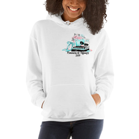 Planners at Tiffany's Hooded Sweatshirt