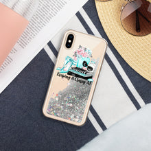 Load image into Gallery viewer, Sparkles Tiffany Liquid Glitter Phone Case