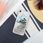 Sparkles Tiffany Liquid Glitter Phone Case