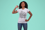 She is Clothed in Strength  Short-Sleeve Unisex T-Shirt