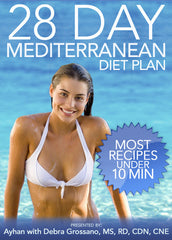 28 Day Mediterranean Diet Plan Softcover Book