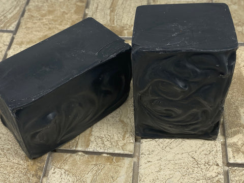 Charcoal Soap w/ Lavender and Spearmint