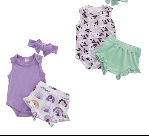 Girls 2 & 3 Piece sets
