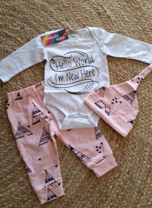 Hello World - 3 Piece Set