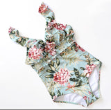 Lady Retro floral 1 piece swimsuit