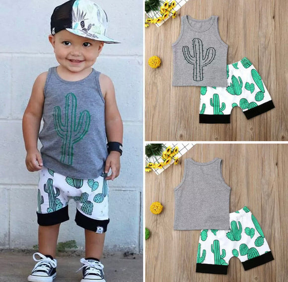 Johnny Cactus 2 Piece Set