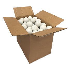White Lacrosse Balls  (NOCSAE specifications. Meets NCAA and NFHS Standards )