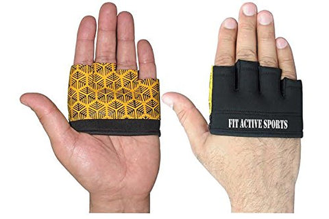 Half Grip Workout Gloves - The Ultimate Callus Defender, Great for Pull-Ups, Kettle Bells, Ropes, Weight Lifting, and More!