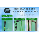 Fit Active Sports Dual Suspension Body Training Straps