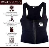 Fit Active Sports Waist Trainer Slimming Vest Trimmer Body Shaper with Belt for Women.
