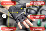 Fit Active Sports Max Grip Workout Gloves