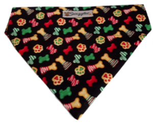 Christmas Dog Treats Bandana
