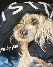 Your Pooches Portrait in Oil - by Irish artist Ashling Bell