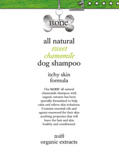 All Natural Sweet Chamomile Dog Shampoo - itchy skin formula