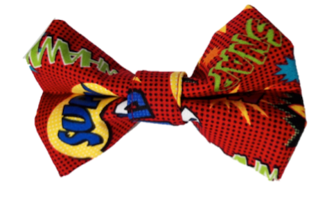 Super Hero - Red  -  Bow Tie