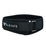 "6"" Neoprene Belt Free Wrist Straps - Black - Elevate Equipment"