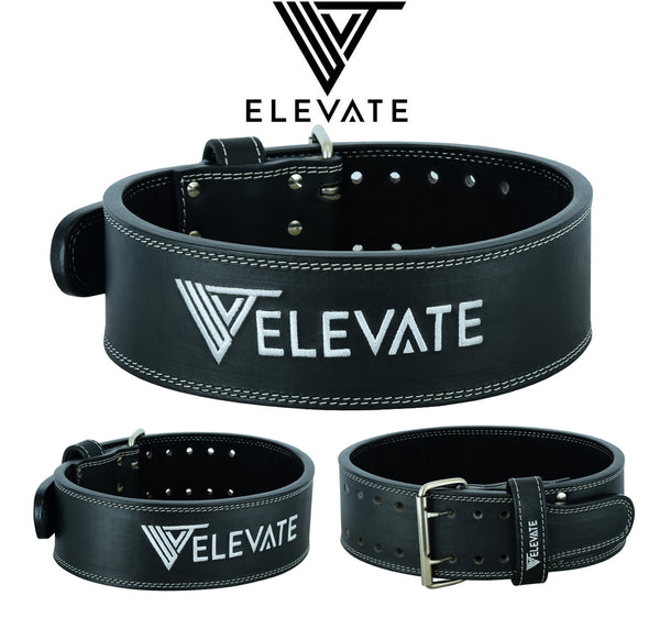 Leather Power Belt - Elevate Equipment