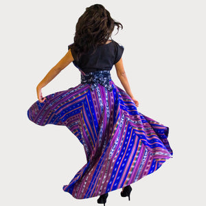 Lucero Voluminous High-Low Skirt
