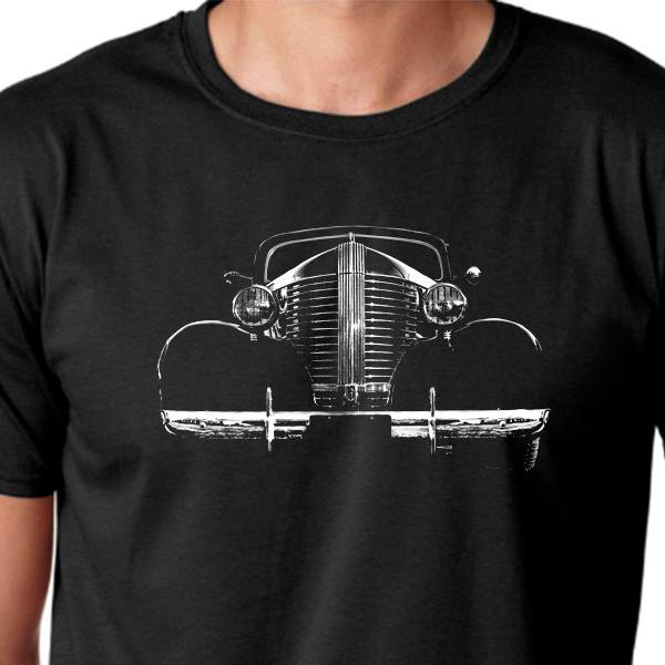 b0078aa41 ... Hotrod, Ratrods, classic cars, muscle car, mens Black cotton summer T-  ...