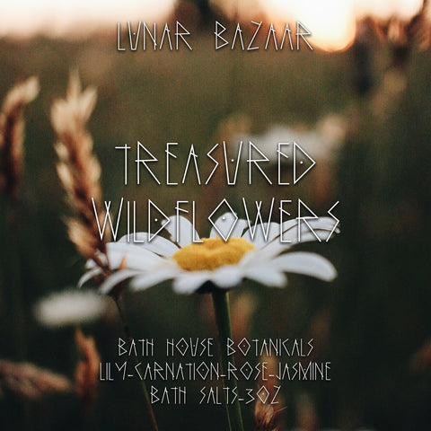 Bathhouse Botanical Bath Salts - Treasured Wildflowers
