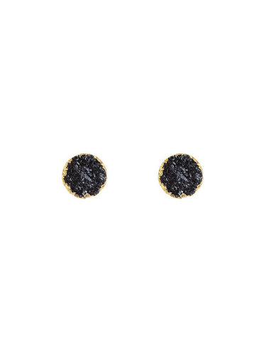 Pietra Earrings - black