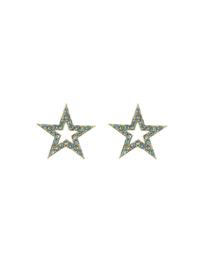 Star Earrings - gold