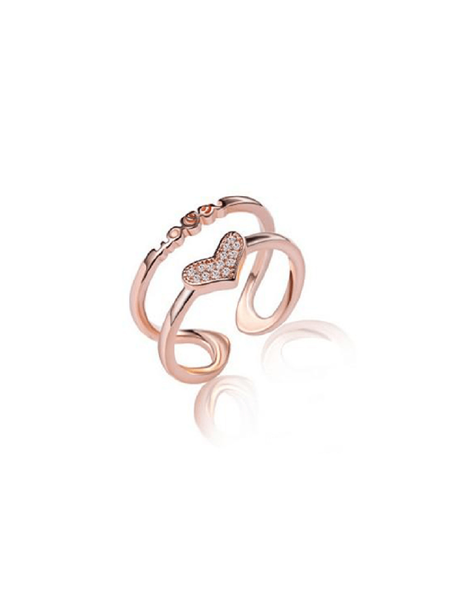 Love Ring - Rose Gold