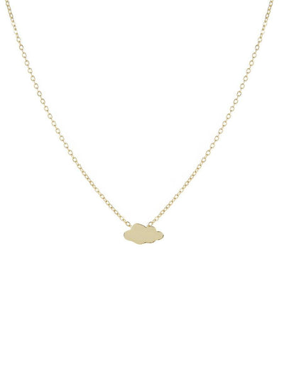 Cloud Necklace - gold