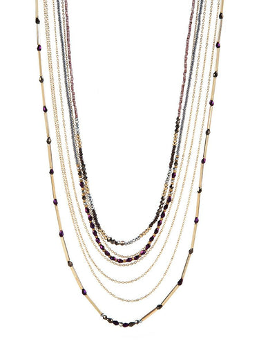 Carina 7-Layer Necklace