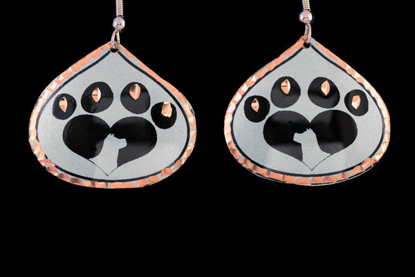 dog paw jewelry