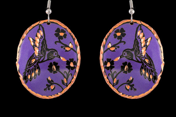 hummingbird earrings for mom