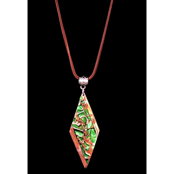 Copper Pendants Set - (Diamond Drop)