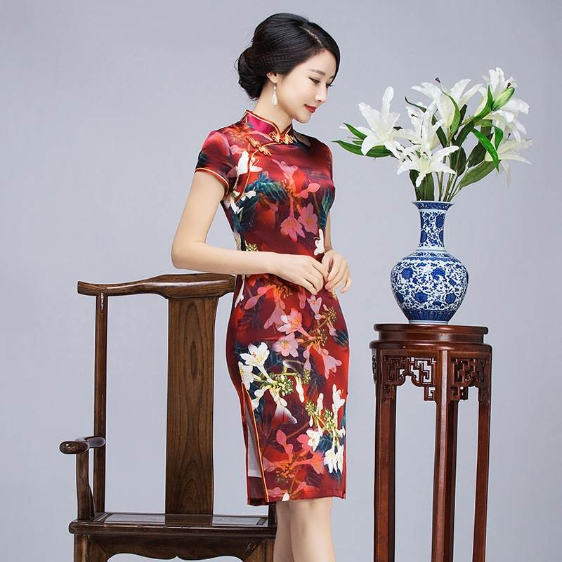 chinese traditional cheongsam