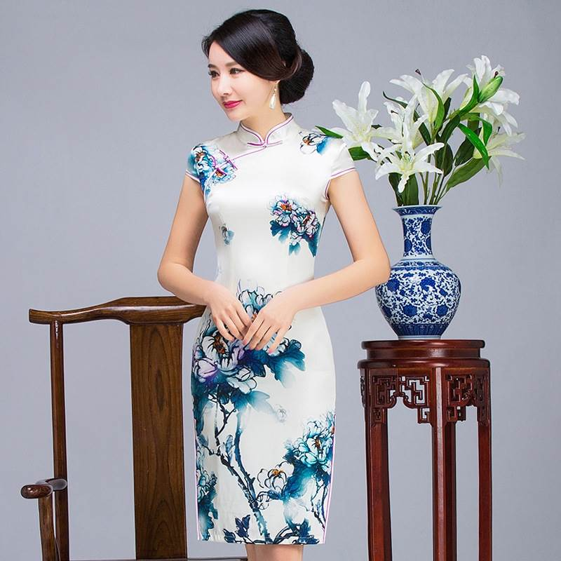 simple chinese dress