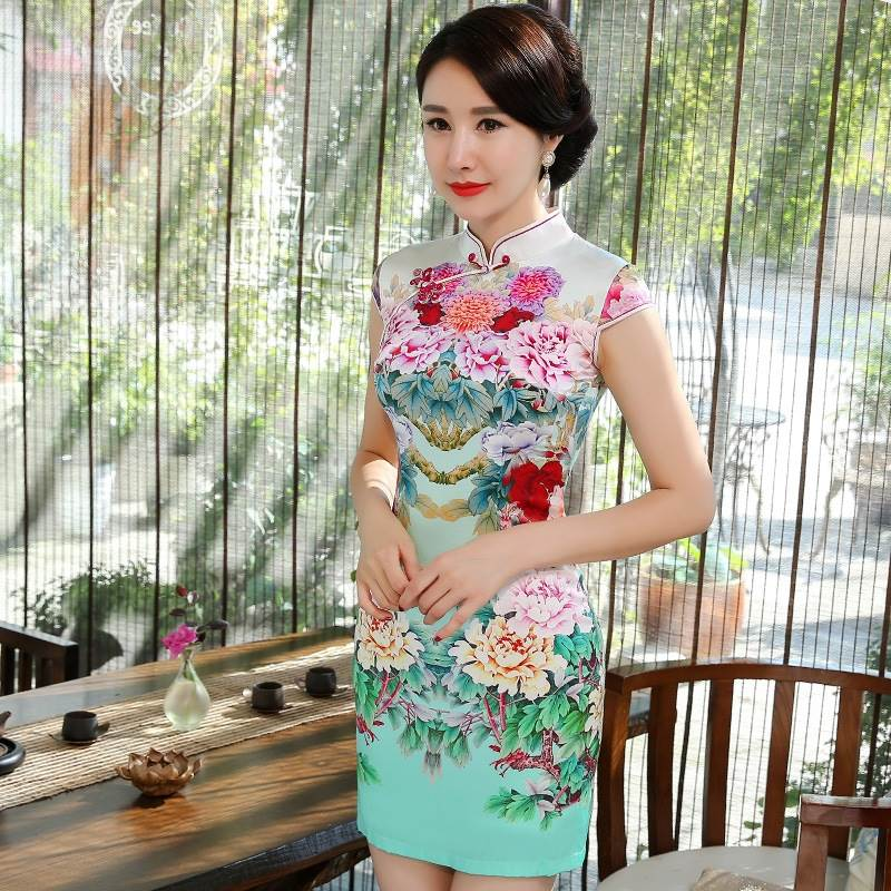 chinese cocktail dresses
